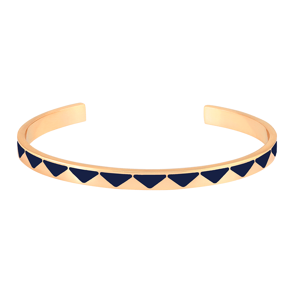 61cf9704f4fe5 Bangle Up Bollystud Rush Bracelet - Night Blue