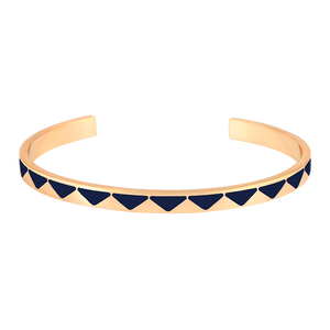 Bangle Up Bollystud Rush Bracelet - Night Blue