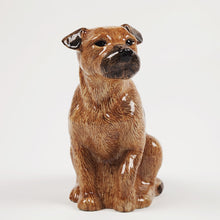 Load image into Gallery viewer, Quail Border Terrier Vase