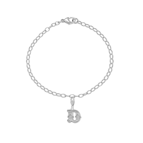 Carter Gore Silver Charm - Letter