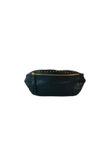 Studded Bumbag - Black/Gold