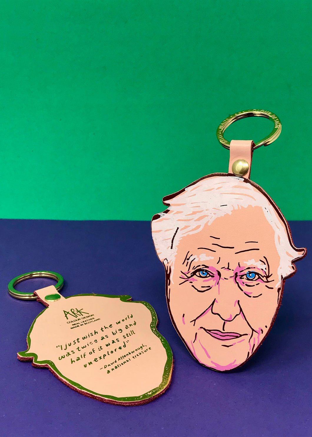 Ark David Attenborough Key Fob