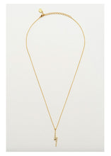 Load image into Gallery viewer, Estella Bartlett Lightning Bolt Necklace (Gold Plated)
