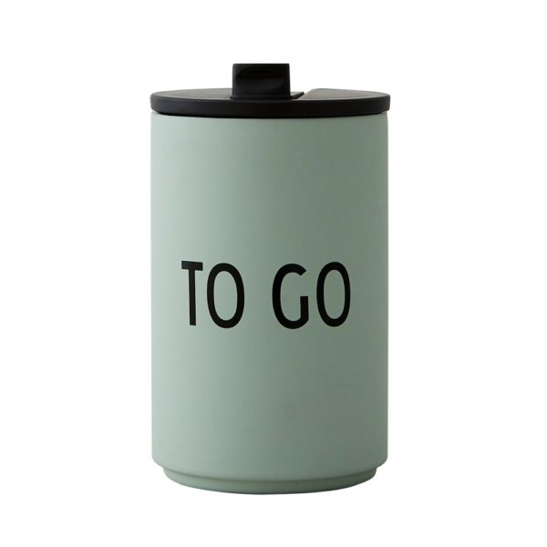 Design Letters Thermos Reusable Coffee Cups