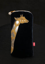 Load image into Gallery viewer, Giraffe Glasses Purse (available in 2 colours)