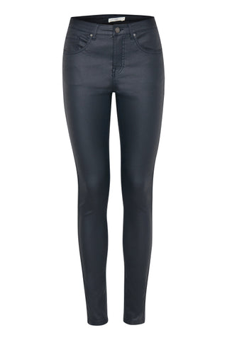 B Young Coated Stretch Jeans Black