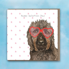 Load image into Gallery viewer, Monty Valentine Card by Lil Wabbit