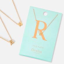 Load image into Gallery viewer, Orelia Gold Plated Initial Necklace