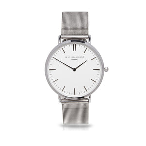 Elie Beaumont Oxford Small Mesh Silver