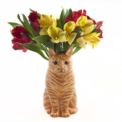 Quail Flower Vase Vincent - Cat