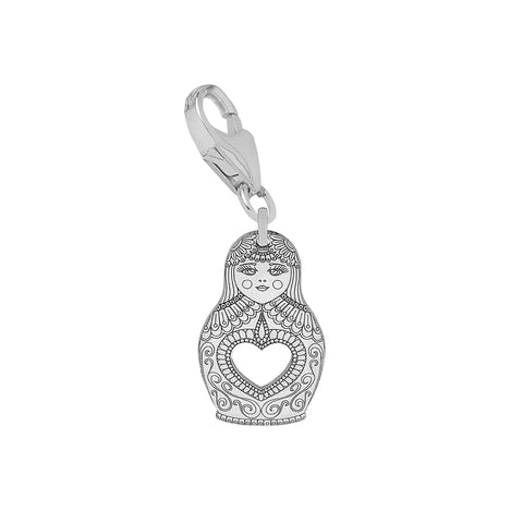 Carter Gore Silver Charm - Russian Doll