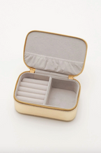 Load image into Gallery viewer, Gold Mini Jewellery Box with Rainbow Applique