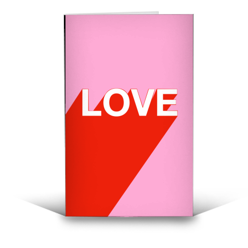 'The Word is Love' Card