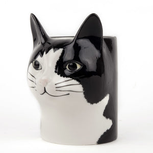 Quail Cat Pencil Pot - Barney