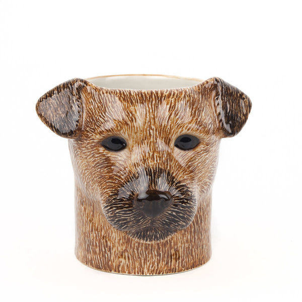 Quail Border Terrier Pencil Pot