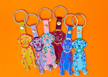 Load image into Gallery viewer, Ark Dog Key Fob (Various Colours)