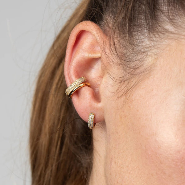 Scream Pretty Silver Bling Ear Cuff