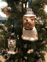 Load image into Gallery viewer, British Bulldog Bauble - available in 2 colours