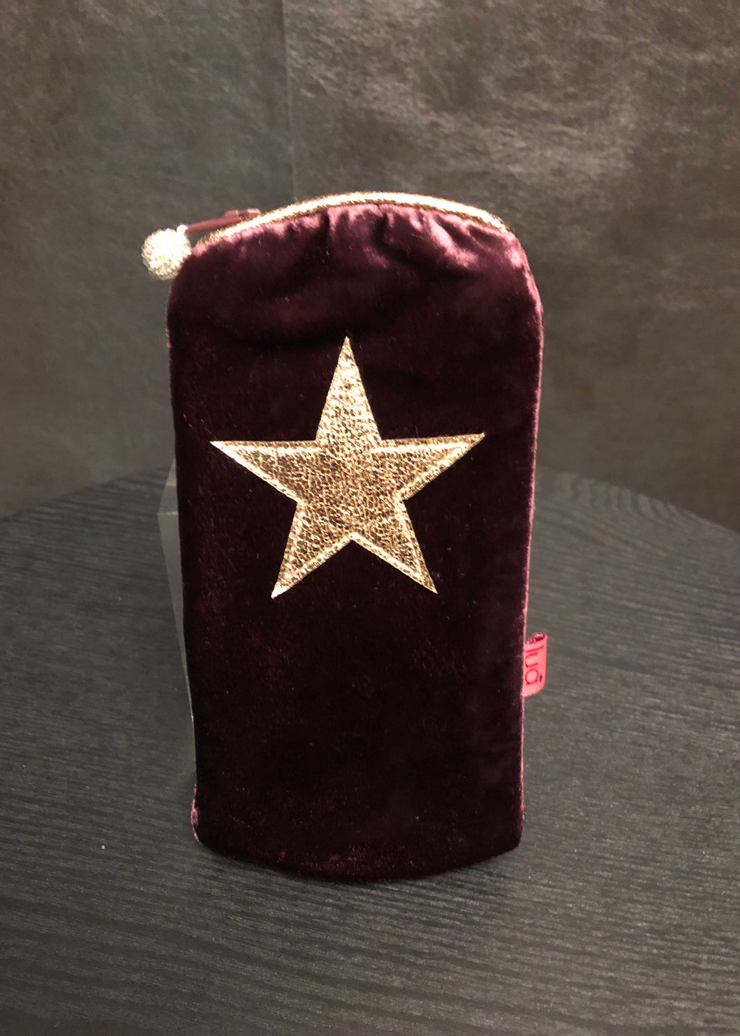 Star Velvet Glasses Purse (available in 3 colours Fuchsia sold out)