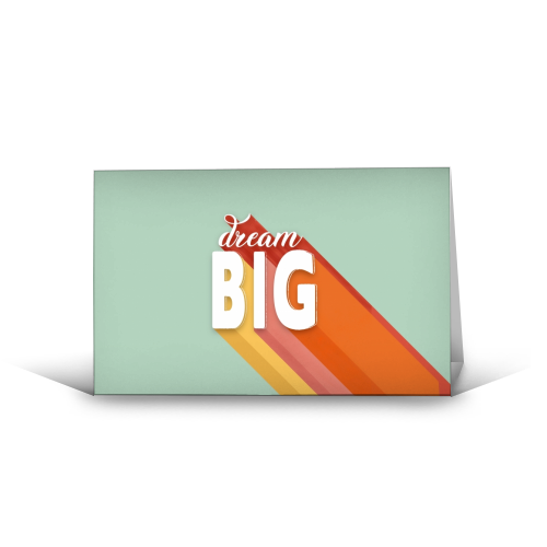 Dream Big - Greeting Card