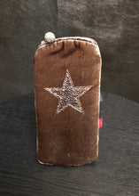 Load image into Gallery viewer, Star Velvet Glasses Case - available in 3 colours