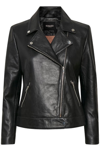 Soaked in Luxury Maeve Leather Jacket