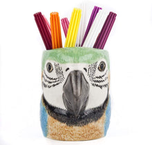 Load image into Gallery viewer, Quail Macaw Pencil Pot