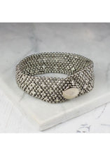Load image into Gallery viewer, My Doris Narrow Mesh Cuff (Silver & Gold available)