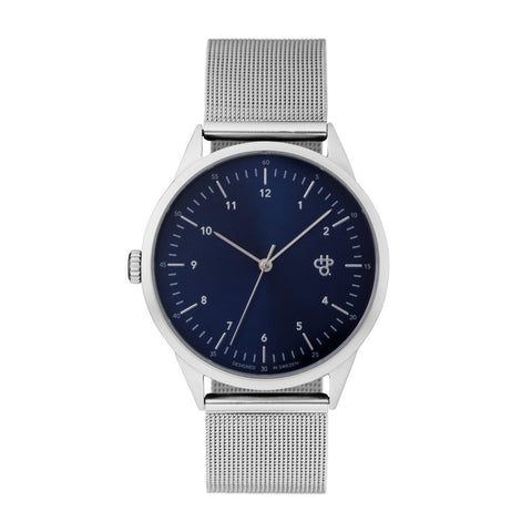 CHPO Nuno Silver and Navy Watch