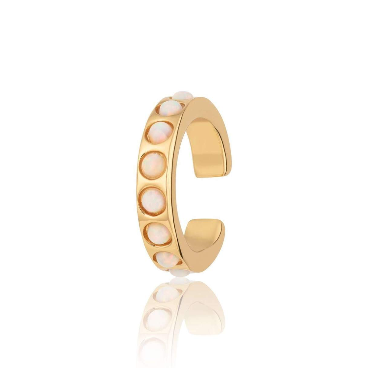 Scream Pretty Opal Gold Cuff