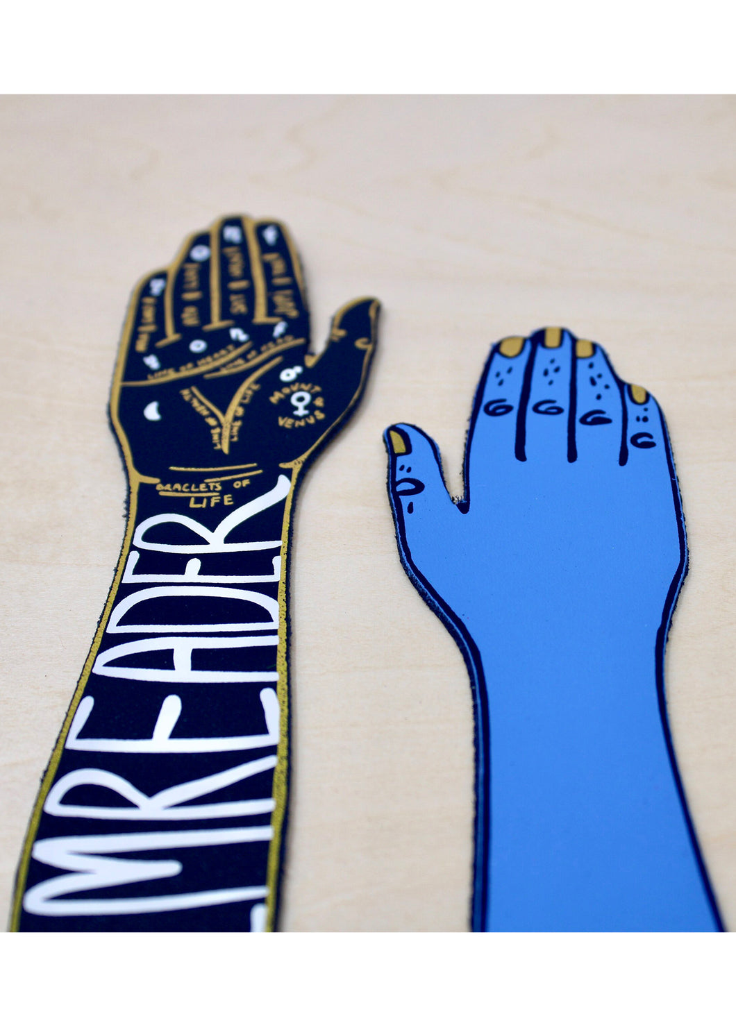 Ark Colour Palm Reader Bookmark in Blue