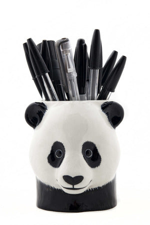 Quail Panda Pencil Pot