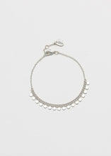 Load image into Gallery viewer, Estella Bartlett Mini Disc Chain Bracelet (Silver Plated)