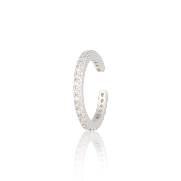 Scream Pretty Slim Sparkling Ear Cuff - Silver or Gold