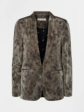 Load image into Gallery viewer, Sofie Schnoor Nova Snakeskin Metallic Blazer