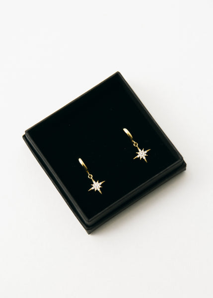 Scream Pretty Starburst Earrings - Silver or Gold