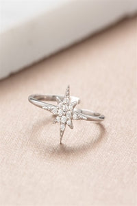Scream Pretty Starburst Ring - Silver