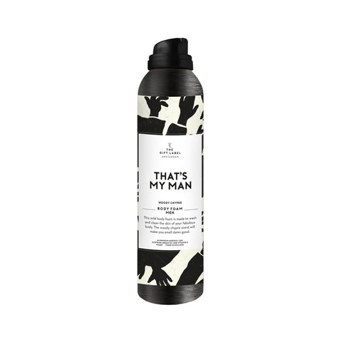 The Gift Label - That's My Man Men's Body Foam
