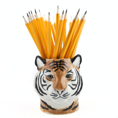 Quail Tiger Pencil Pot