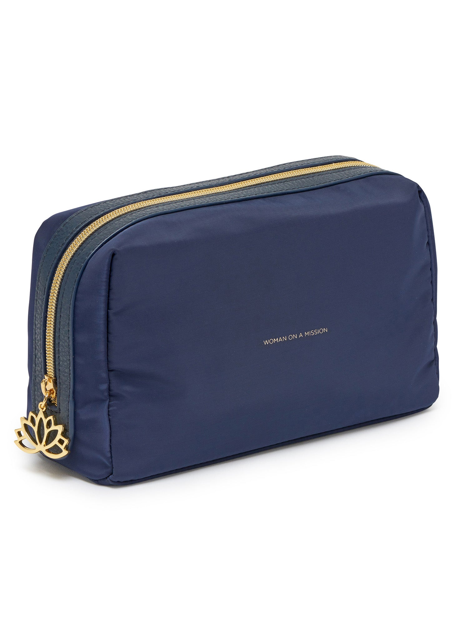 Estella Bartlett 'Woman On A Mission' Travel Pouch in Navy