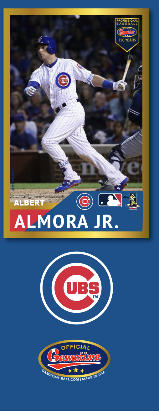 Albert Almora Jr Photo Bat | MLB Collection