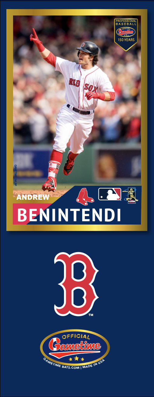 Andrew Benintendi Photo Bat | MLB Collection