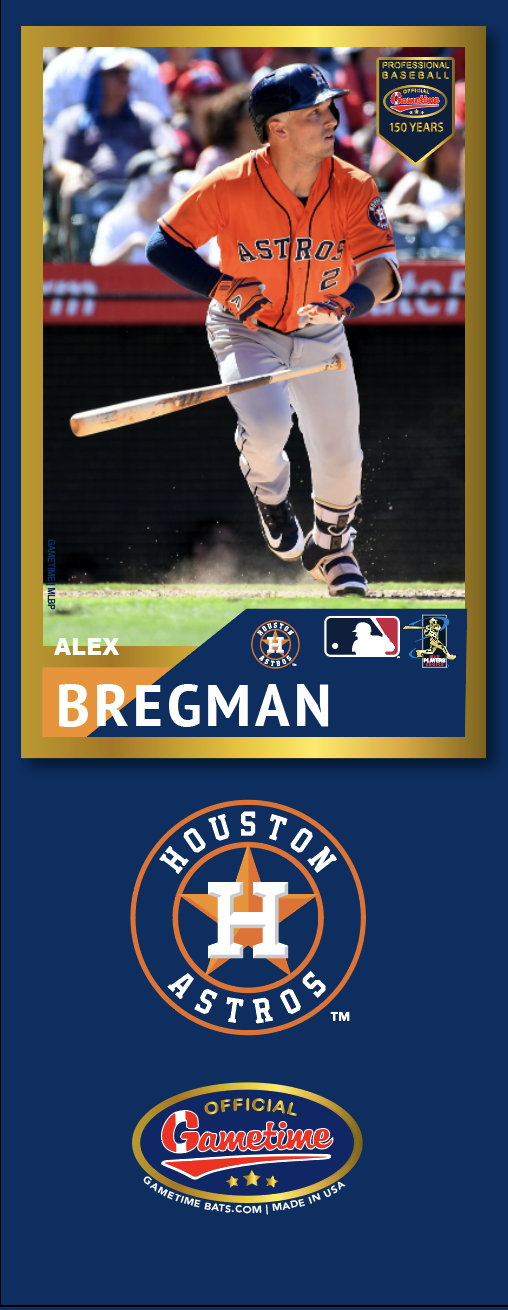 Alex Bregman Photo Bat | MLB Collection