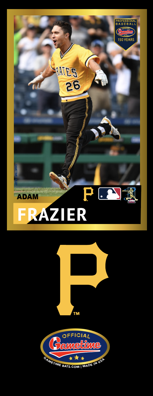 Adam Frazier Photo Bat | MLB Collection
