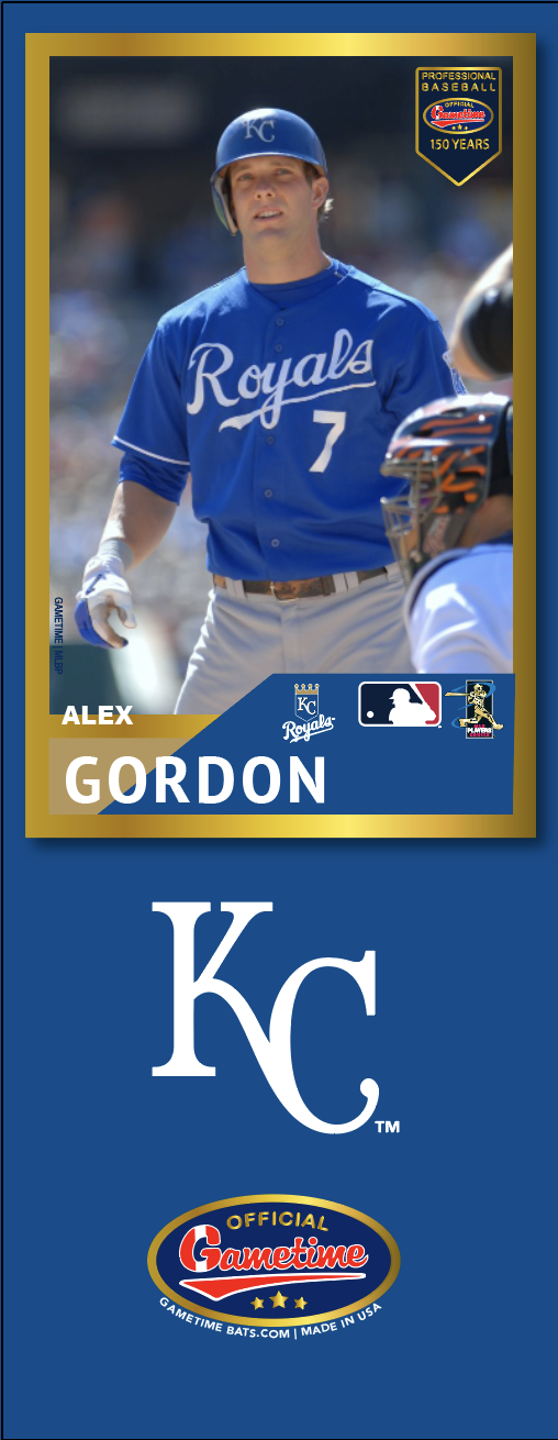 Alex Gordon Photo Bat | MLB Collection