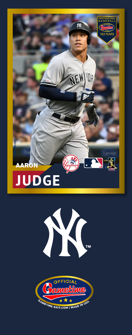 Aaron Judge Photo Bat | MLB Collection