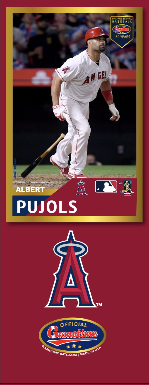 Albert Pujols Photo Bat | MLB Collection