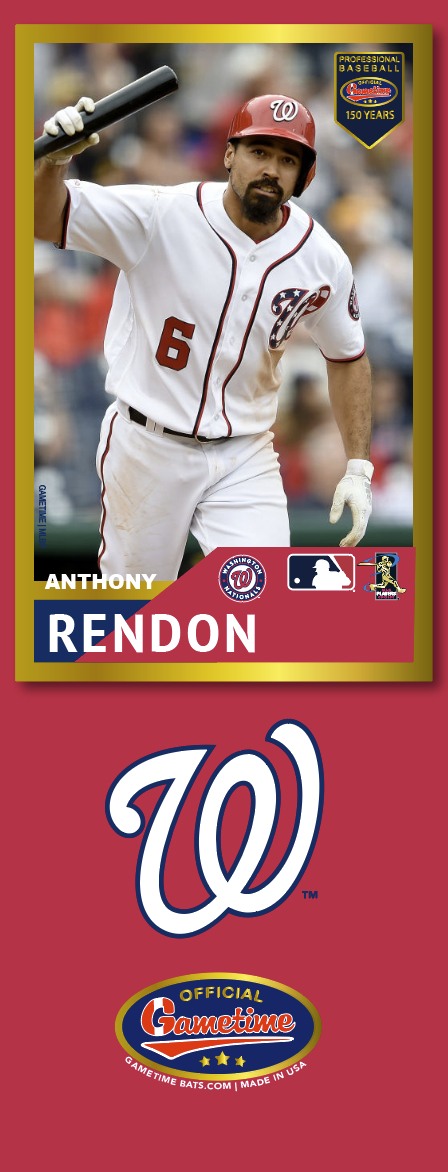 Anthony Rendon Photo Bat | MLB Collection