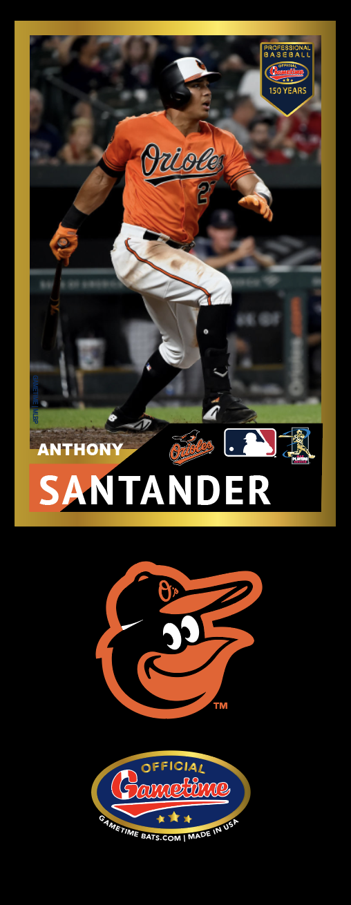 Anthony Santander Photo Bat | MLB Collection