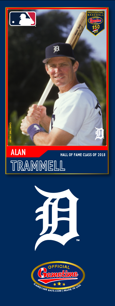 Alan Trammell Photo Bat | MLB Hall of Fame Collection